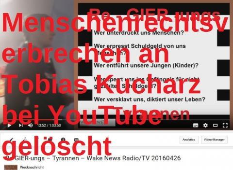 Tobias Kucharz wird von der Polizei getreten! Kinderklau in Kaiserslautern