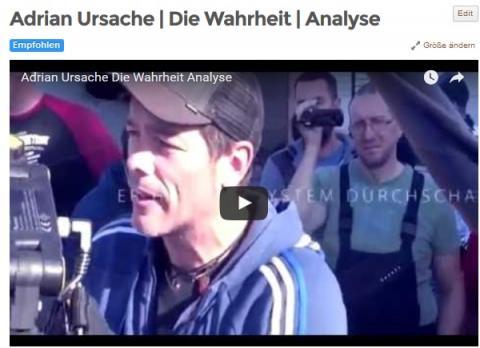 Adrian Ursache | Die Wahrheit | Analyse