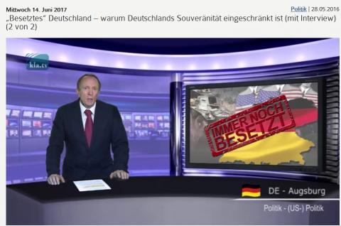 Besetztes Deutschland - warum Deutschlands Souveränität eingeschränkt ist