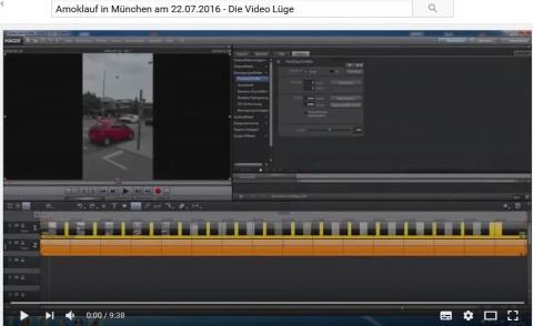 Amoklauf in München am 22.07.2016 - Die Video Lüge