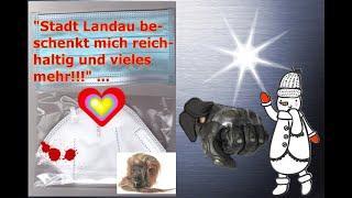 """""""Stadt Landau beschenkt mich reichhaltig mit Masken & vieles mehr!!!"""" ..."""