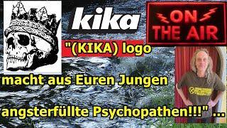 """(KIKA) logo macht aus Euren Jungen (Kindern) angsterfüllte Psychopathen!!!"" ..."
