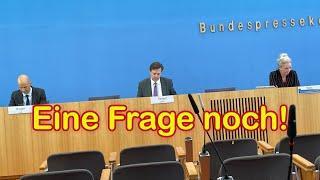 """Regierung beschwichtigt: """"Zwangstests nicht vorgesehen"""" – Heute auf der Bundespressekonferenz"""