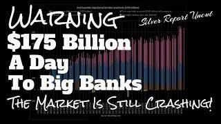 Banks Crushed In Stock Market Crash The Fed To Increases Repo To $175 Billion A Day, Worst Is Ahead!