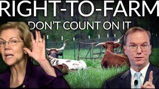 DON'T COUNT ON YOUR RIGHT TO FARM | The Movement Against Farms