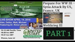 UWS LIVE Show 20180414 Featuring Dr. Rima Laibow PART 1