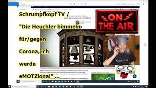 """Trailer: Schrumpfkopf TV / """"Die heuchlerischen Kirchen (Firmen) läuten für/gegen Corona!!!"""""""