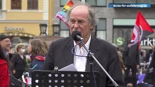 """""""Die Verantwortlichen zur Rechenschaft ziehen"""" - Dr. med. Walter Weber bei Demo in Leipzig, 30.5.2"""