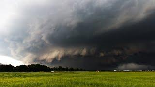 Schweres Hagelunwetter im Großraum München 10. Juni 2019