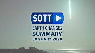January 2020: Extreme Weather, Planetary Upheaval, Meteor Fireballs