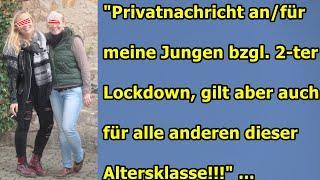"""""""2-TER LOCKDOWN — PRIVATE VIDEOBOTSCHAFT AN MEINE 2 JUNGEN UND DEN REST"""" ..."""