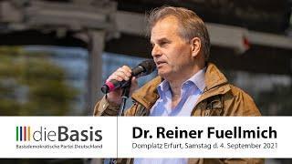 RA Dr. Reiner Fuellmich, Erfurt 4.9.2021, dieBasis LV Thüringen