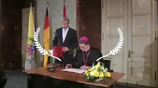 Der Hammer! Hört genau hin! Der Erzbischof von Berlin Dr Woelki schwört den Treueeid ! Auf was     3