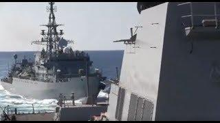 "Close Call! U.S. Destroyer Almost HIT By ""Aggressive Approach"" from Russian Warship"