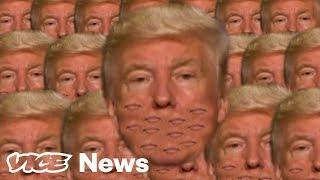 Hier wird Donald Trump schwer auf die Schippe genommen ☺