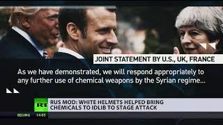 Syrien: Planen Terror-Helme einen inszenierten Chemiewaffenangriff?