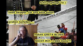 Trailer: Schrumpfkopf TV / Liebe Skipper, bitte nehmt Greta bloß nicht mit, 1.000 Dank!!!
