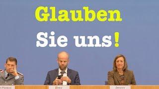 Sehenswerte Bundespressekonferenz - 11. Oktober 2019