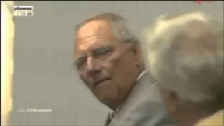 Schäuble: Die Not wird die Menschen zwingen, sich zu beugen!