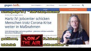"""Trailer:  Schrumpfkopf TV / """"Fa. Jobcenter- und Tafelchaos, telef. Unerreichbarkeit, usw."""" ..."""