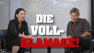 "ANNALENA BAERBOCK demütigt Habeck: ""Du Kühe, ich VÖLKERRECHT!"""