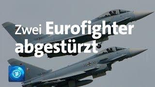 Zwei Eurofighter über Mecklenburg-Vorpommern abgestürzt
