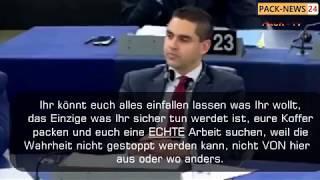 Ihr seid nicht normal! Großartige Rede von Matteo Salvini im EU-Parlament!