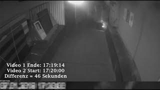 Analyse Zeitsprünge und Anomalien (Magnitz Polizeivideo)