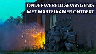 Niederländische POLIZEI entdeckte 7 Folterkammern (Seecontainer)