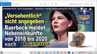 """""""Annalena Baerbock meldet Einnahmen nach und ihre Gematria!!!"""" ..."""