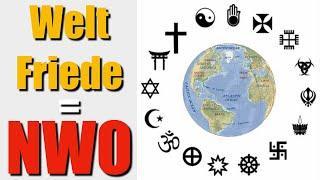 Weltfriede bedeutet TOTALEN KRIEG, vor der Neuen Welt Ordnung!
