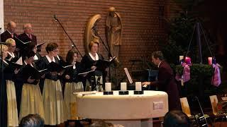 Kirchenchor:   Von guten Mächten wunderbar geborgen ...