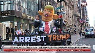 Donald Trump einer der unbeliebtesten Präsidenten