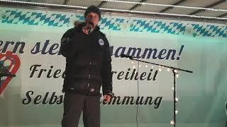 #Volksbegehren #Landtag abberufen #Demo #München 3.01.21