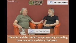 The GCLC and the G-PORD are proceeding, extending Interview with :Carl-Peter:Hofmann