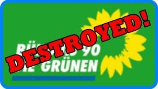 Die Grünen wurden gerade ZERSTÖRT!