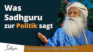 Sadhguru lässt die Maske fallen - Esoterik systemkonform vom Feinsten
