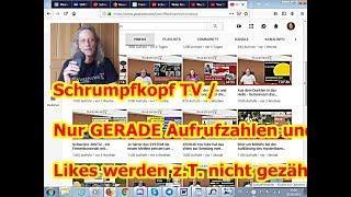 Trailer: Nur GERADE Aufrufzahlen und Likes werden z.T. nicht gezählt