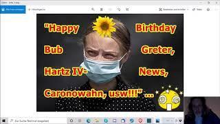 """Happy Birthday Bub Greter, Hartz IV-News, Caronowahn, usw.!!!"" ..."