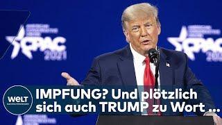 USA VERIMPFT MILLIONENDOSEN AM TAG: Und plötzlich meldet sich Donald Trump zu Wort ... I WELT News