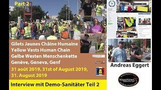 Gilets Jaunes 20190831 Teil 2: Interview mit dem Demo-Sanitäter Andreas Eggert