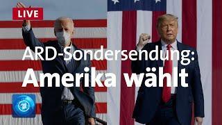 Live - Amerika wählt: Wer wird der nächste Präsident? | US-Wahl 2020