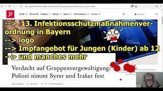 """""""13. bayrische Infektionsschutzverordnung, die (möglicherweise) nächste Vergewaltigung von ...!!!"""""""
