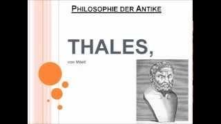Thales, von Milet!