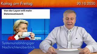 Der politische Wochenrückblick - Kaitag am Freitag #223 - 30.10.2020