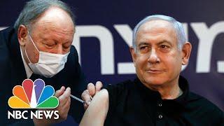 Fakeimpfung - Israeli PM Benjamin Netanyahu Receives Pfizer Vaccine   NBC News