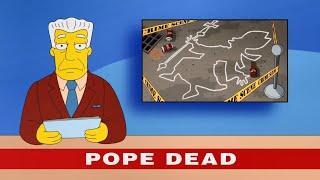 Simpsons - Pope Death [Gematria Proof]