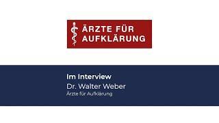 Skandalös ! Interview mit Dr. Walter Weber in Hannover