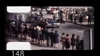 Private Filmaufnahmen von Abraham Zapruder-Schüsse auf John F. Kennedy
