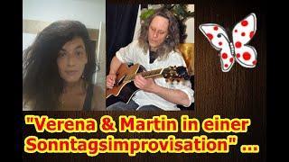 """""""Verena & Martin bei einer spontanen Sonntagsimprovisation, viel Vergnügen und Erkenntnisse"""" ..."""